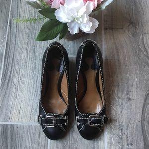 Authentic CHLOÉ Black Leather Heels